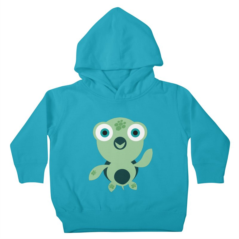 Honu Kids Toddler Pullover Hoody by Angry Guppie Design's Artist Shop