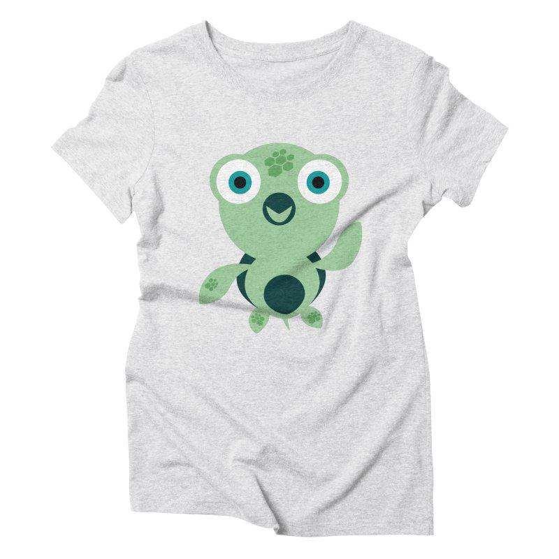 Honu Women's Triblend T-Shirt by Angry Guppie Design's Artist Shop