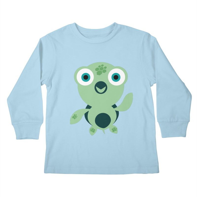 Honu Kids Longsleeve T-Shirt by Angry Guppie Design's Artist Shop