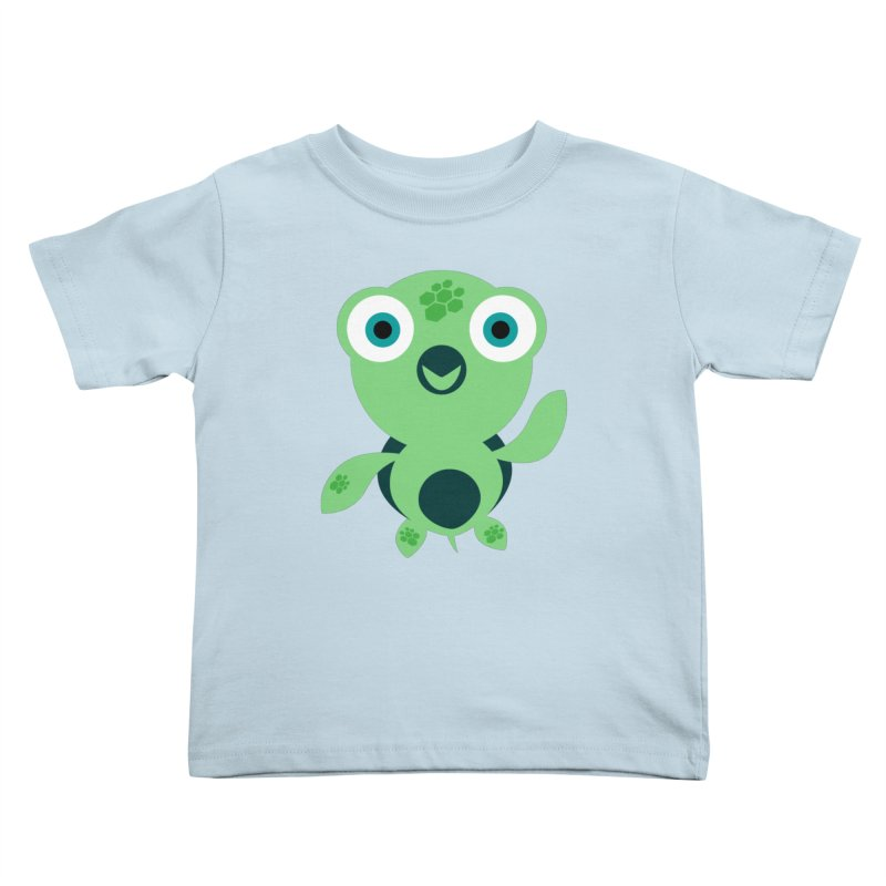 Honu Kids Toddler T-Shirt by Angry Guppie Design's Artist Shop