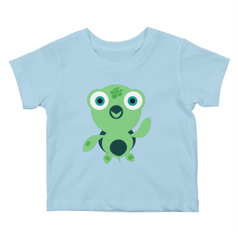 Honu Kids Baby T-Shirt by Angry Guppie Design's Artist Shop