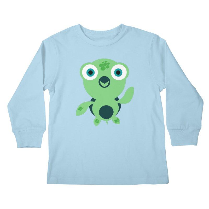 Honu Kids Longsleeve T-Shirt by Angry Guppie Design's Artist Shop