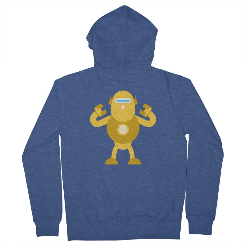 Mr Robot Women's French Terry Zip-Up Hoody by Angry Guppie Design's Artist Shop