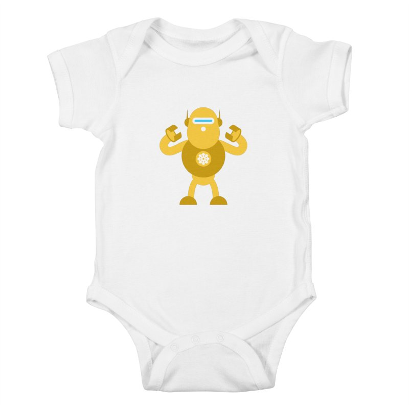 Mr Robot Kids Baby Bodysuit by Angry Guppie Design's Artist Shop