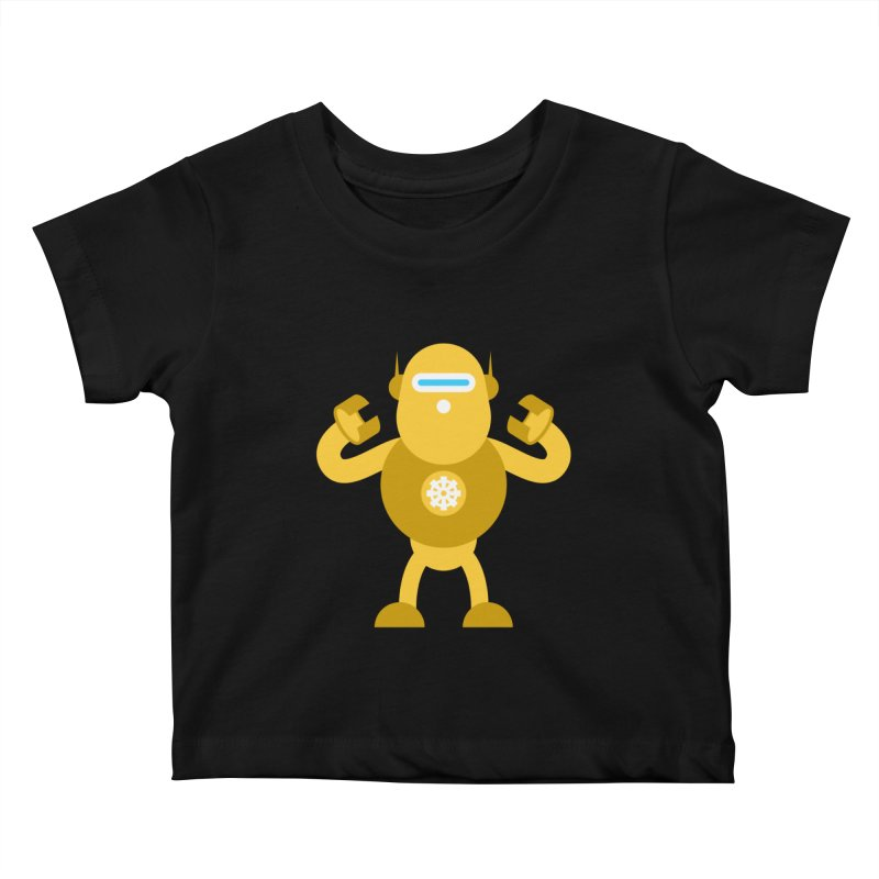Mr Robot Kids Baby T-Shirt by Angry Guppie Design's Artist Shop