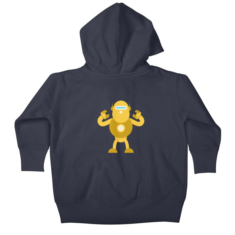 Mr Robot Kids Baby Zip-Up Hoody by Angry Guppie Design's Artist Shop