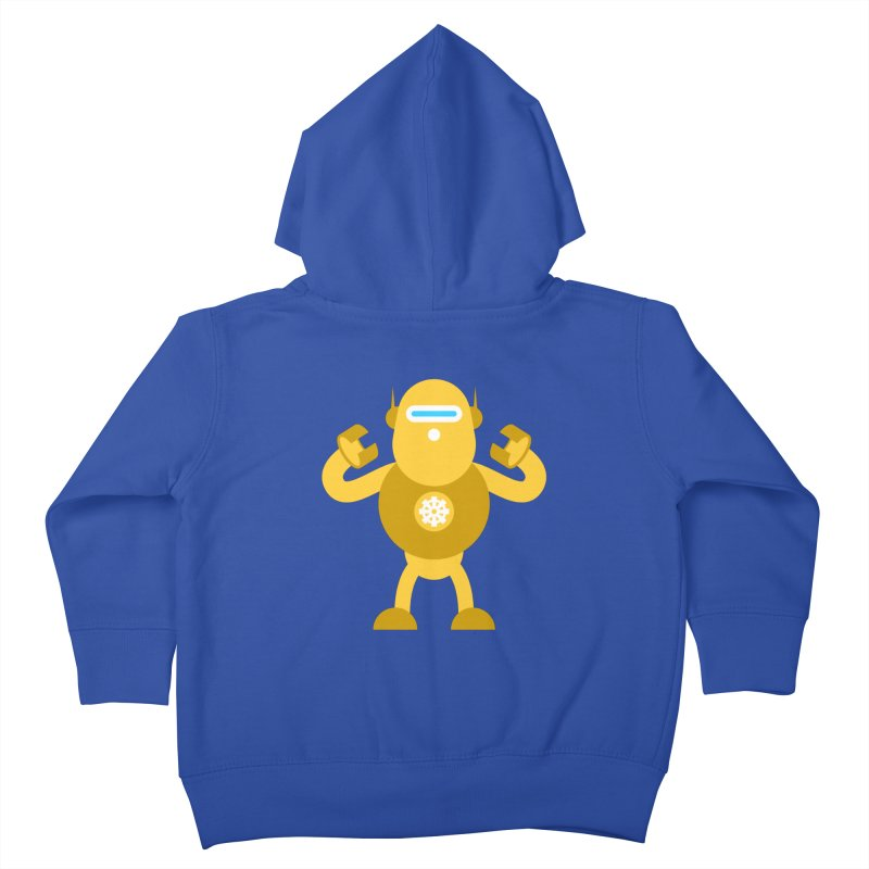 Mr Robot Kids Toddler Zip-Up Hoody by Angry Guppie Design's Artist Shop