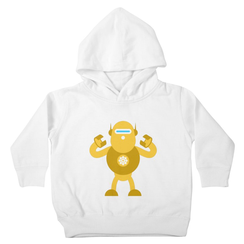 Mr Robot Kids Toddler Pullover Hoody by Angry Guppie Design's Artist Shop