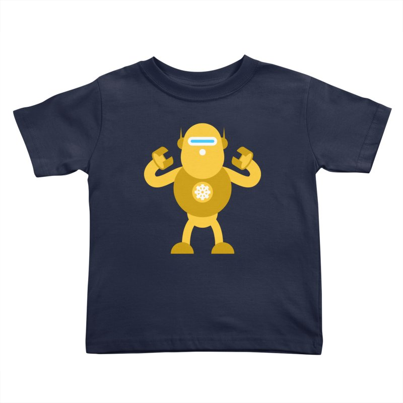 Mr Robot Kids Toddler T-Shirt by Angry Guppie Design's Artist Shop