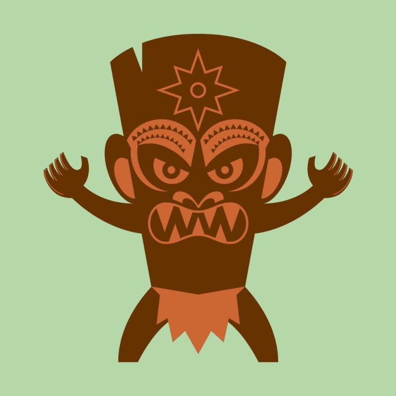 Tiki Men's T-Shirt by Angry Guppie Design's Artist Shop
