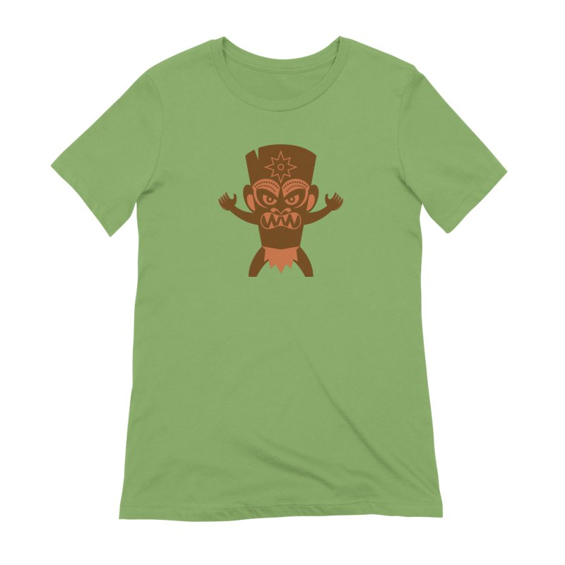 Tiki Women's Extra Soft T-Shirt by Angry Guppie Design's Artist Shop