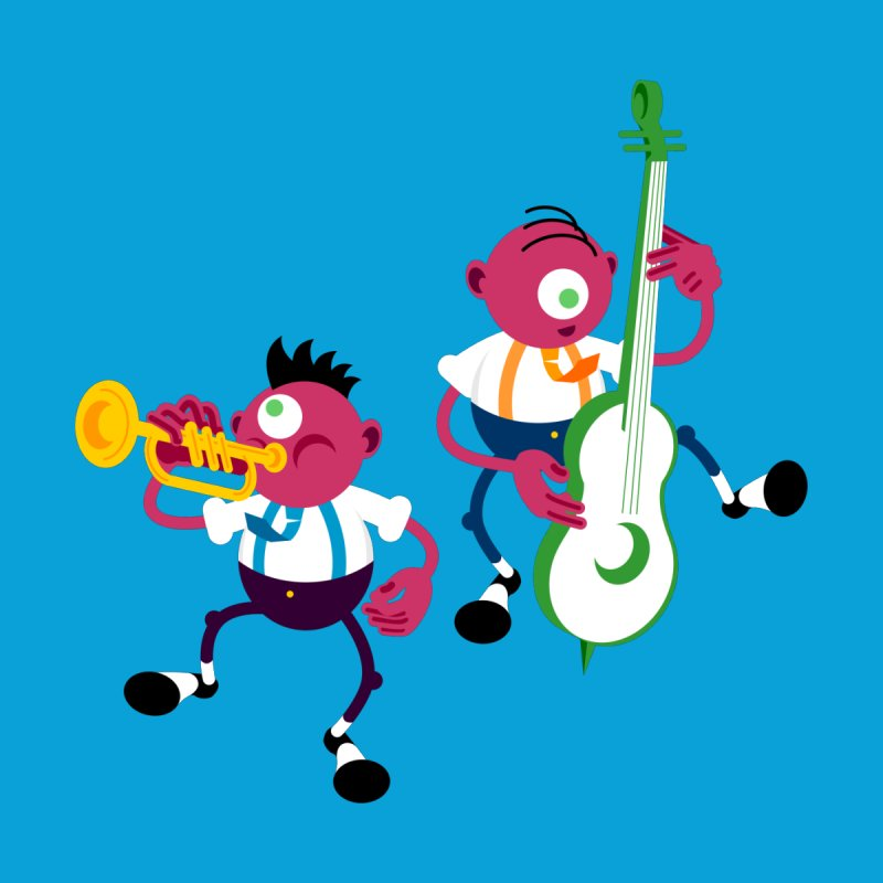 Dancing Twins   by Angry Guppie Design's Artist Shop