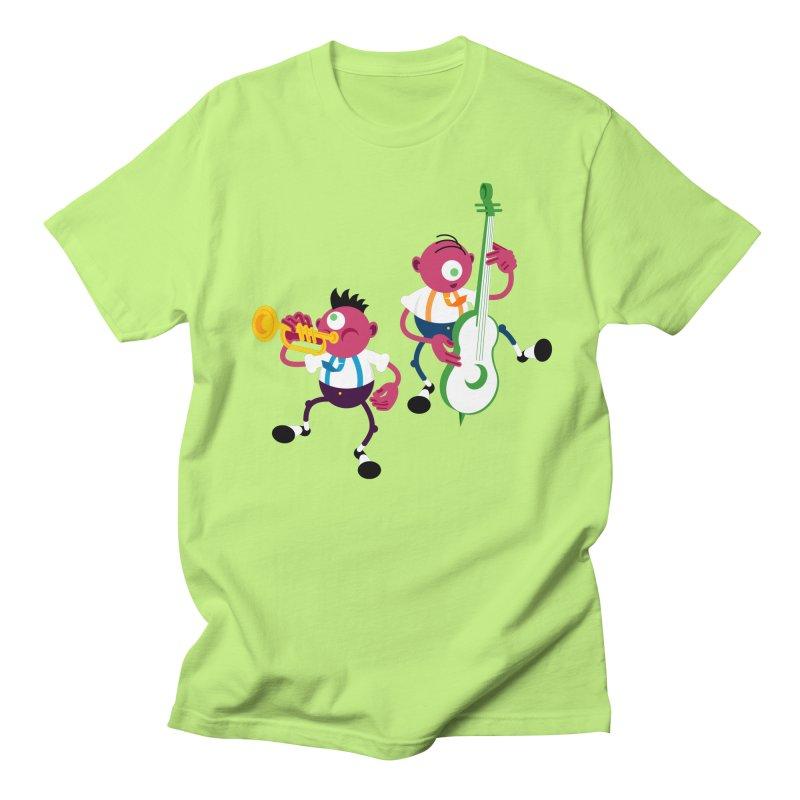 Dancing Twins Men's Regular T-Shirt by Angry Guppie Design's Artist Shop