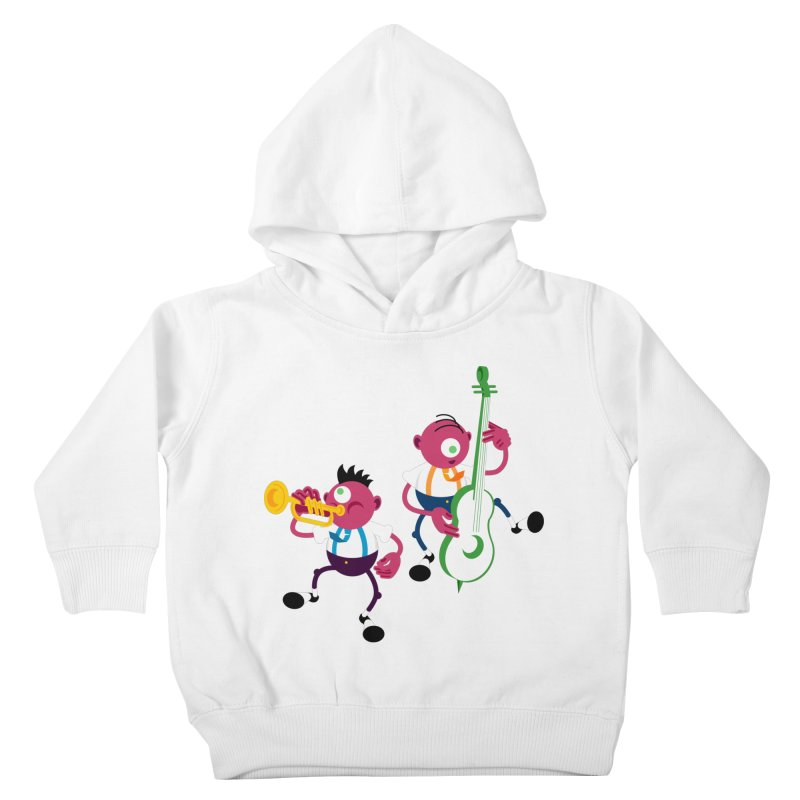 Dancing Twins Kids Toddler Pullover Hoody by Angry Guppie Design's Artist Shop