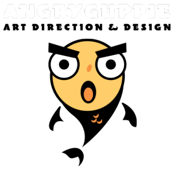 Angry Guppie Design's Artist Shop Logo