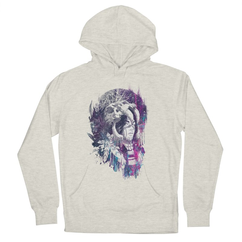 Shaman  Men's Pullover Hoody by Angrymonk