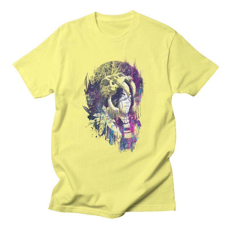 Shaman  Men's T-shirt by Angrymonk