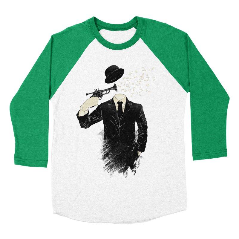 Blown Men's Baseball Triblend Longsleeve T-Shirt by Angrymonk