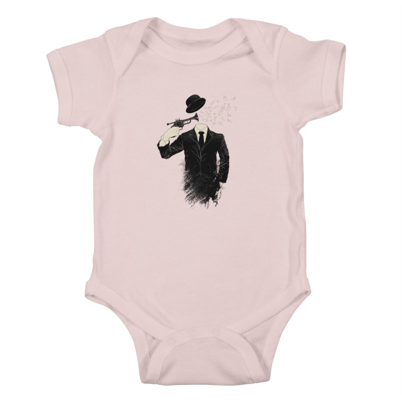 Blown Kids Baby Bodysuit by Angrymonk