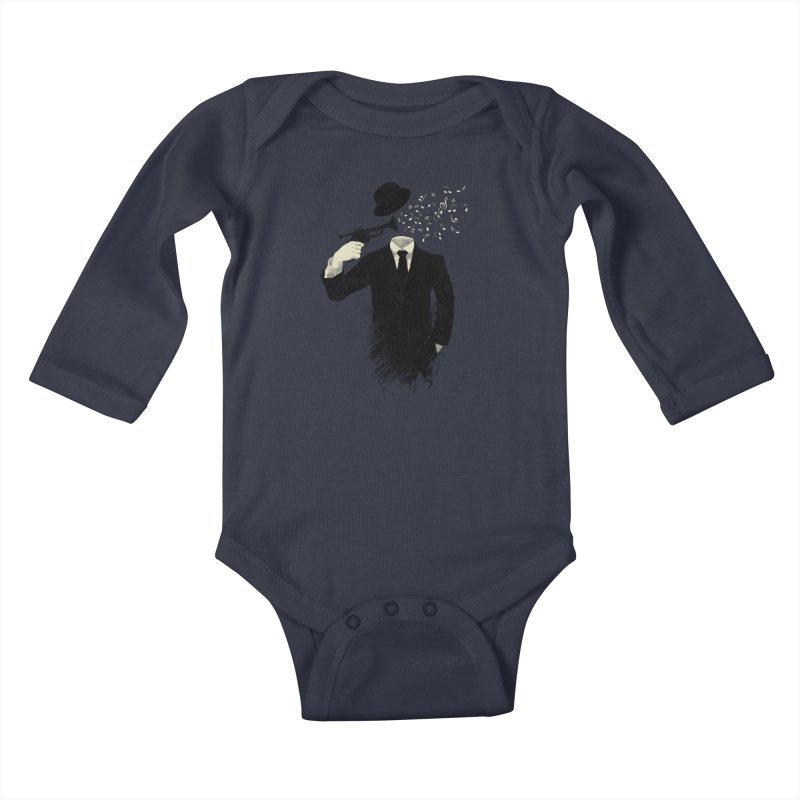 Blown Kids Baby Longsleeve Bodysuit by Angrymonk