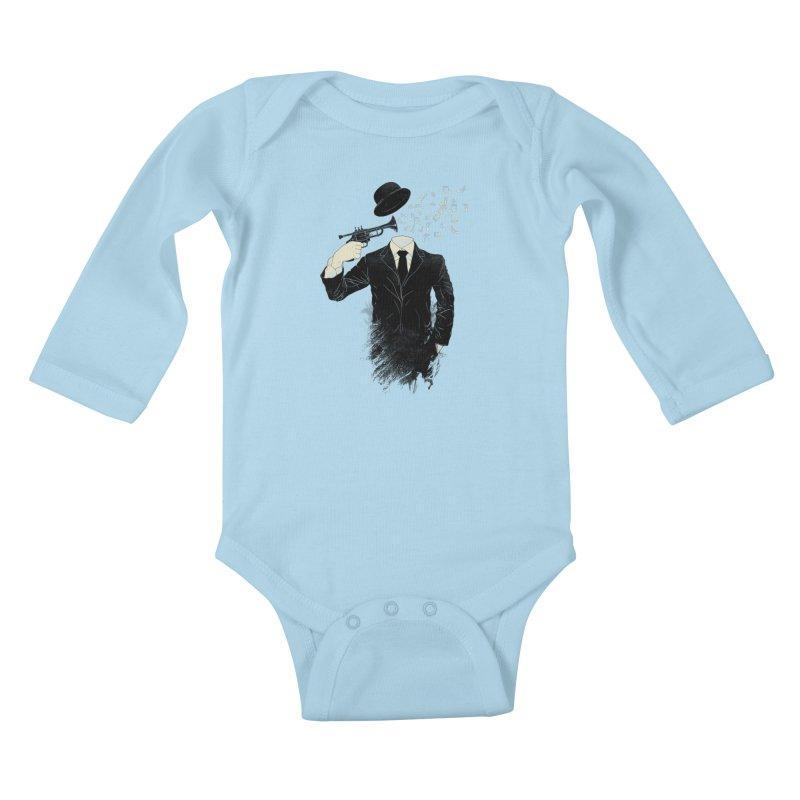 Blown Kids Baby Longsleeve Bodysuit by Angrymonk