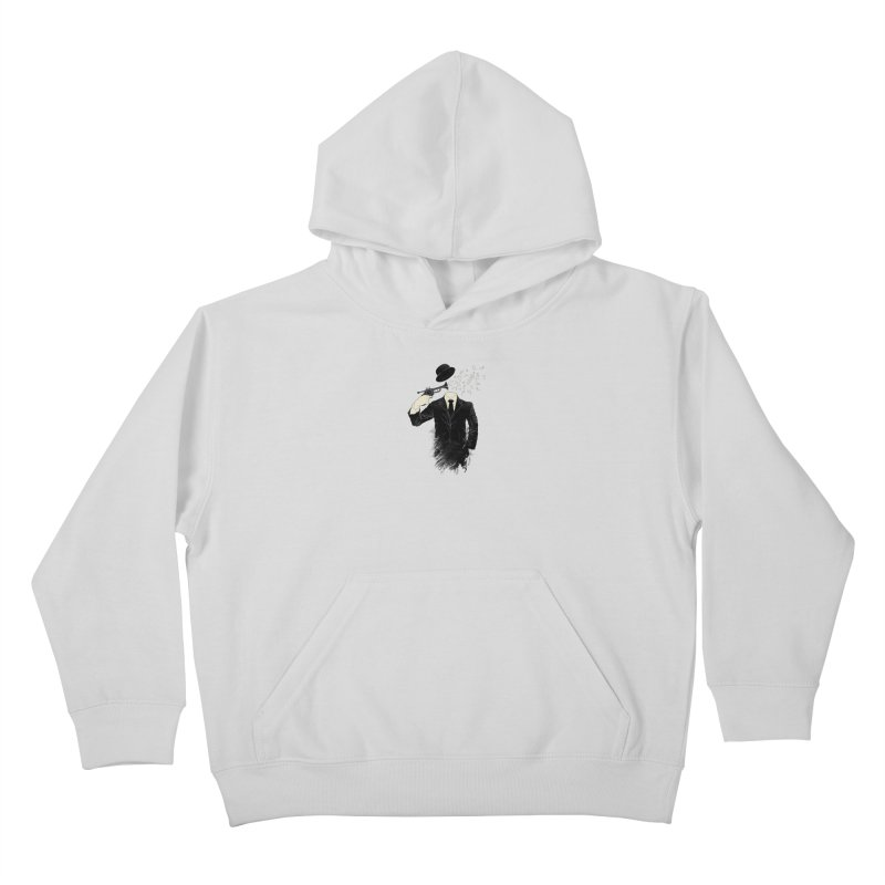 Blown Kids Pullover Hoody by Angrymonk