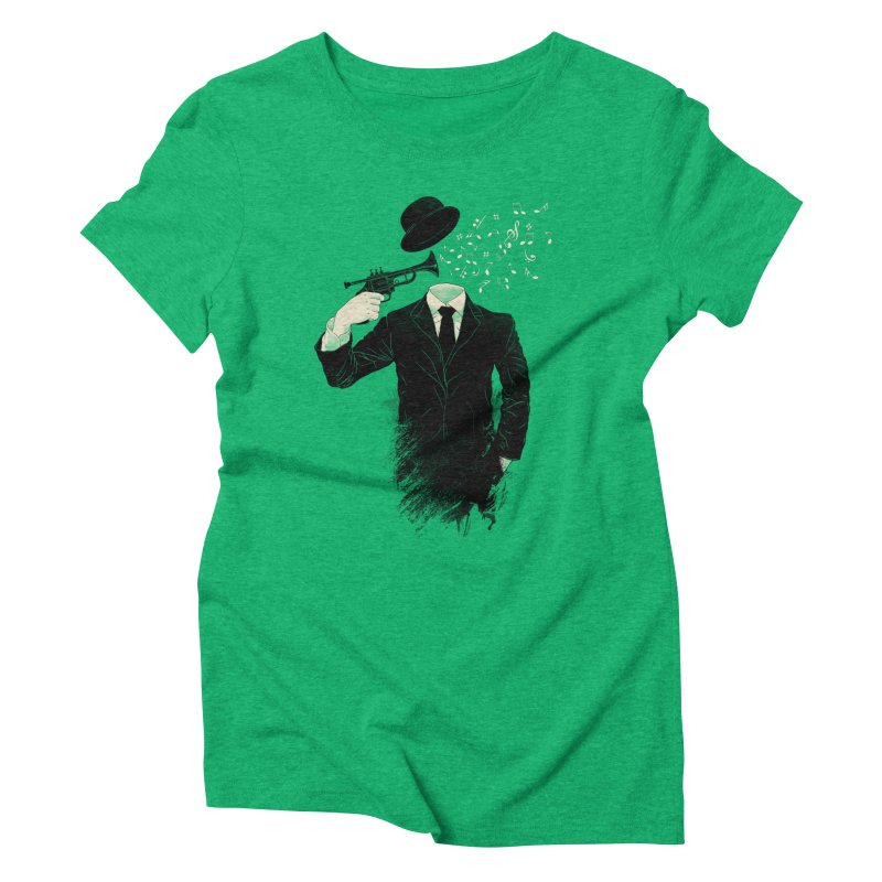 Blown Women's Triblend T-Shirt by Angrymonk