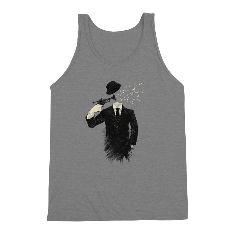 Blown Men's Triblend Tank by Angrymonk