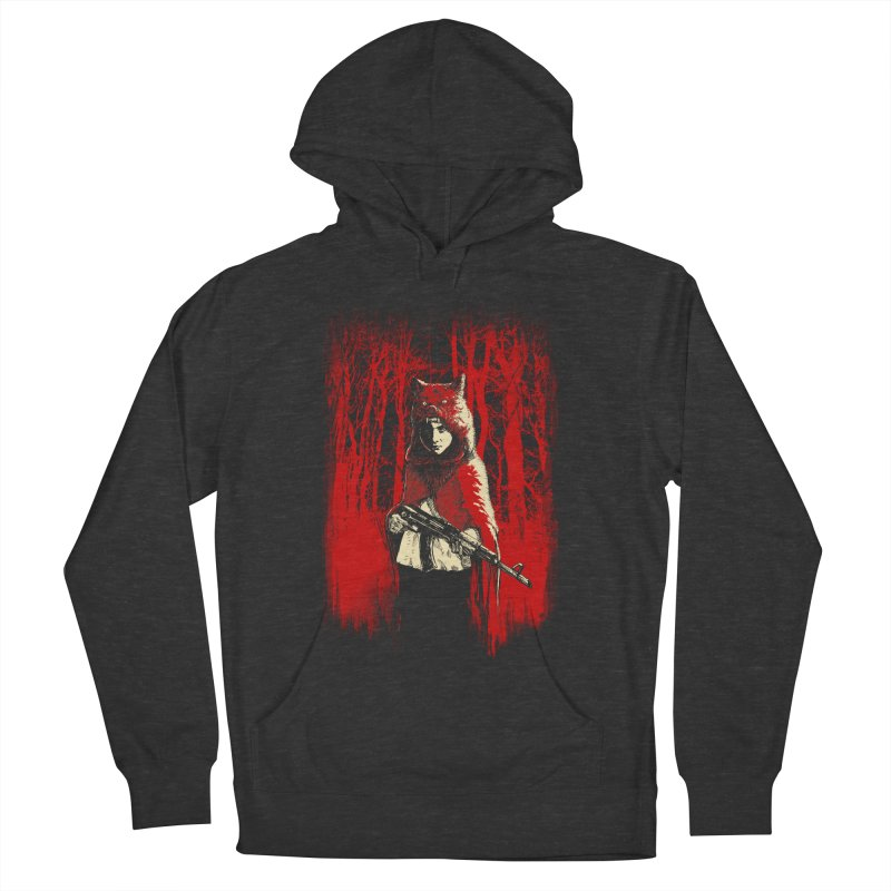 Here Comes the Red One Men's French Terry Pullover Hoody by Angrymonk