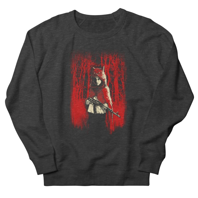 Here Comes the Red One Women's French Terry Sweatshirt by Angrymonk