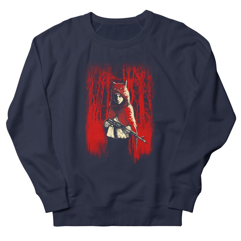 Here Comes the Red One Women's Sweatshirt by Angrymonk