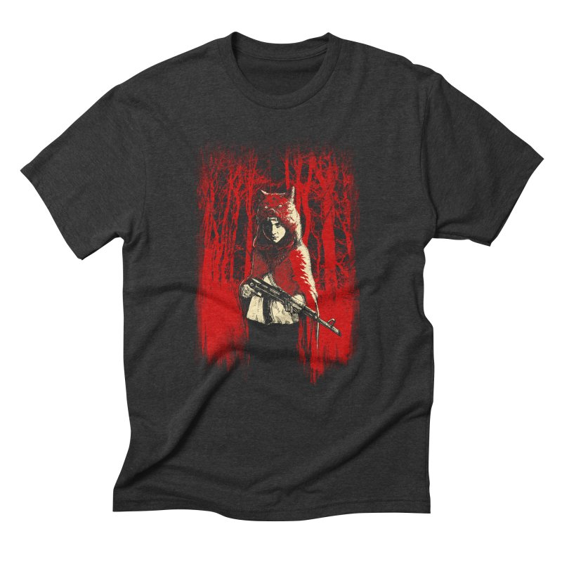 Here Comes the Red One Men's T-Shirt by Angrymonk