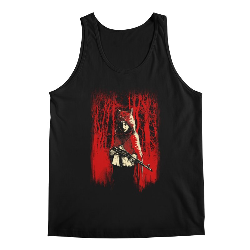 Here Comes the Red One Men's Regular Tank by Angrymonk