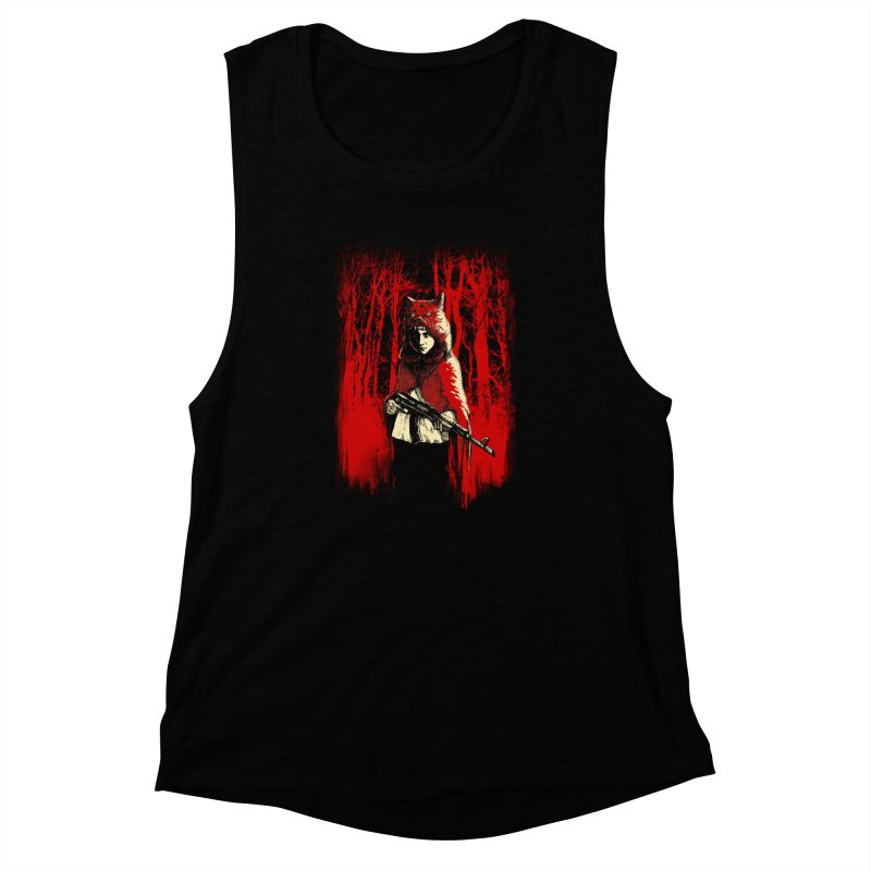 Here Comes the Red One Women's Tank by Angrymonk
