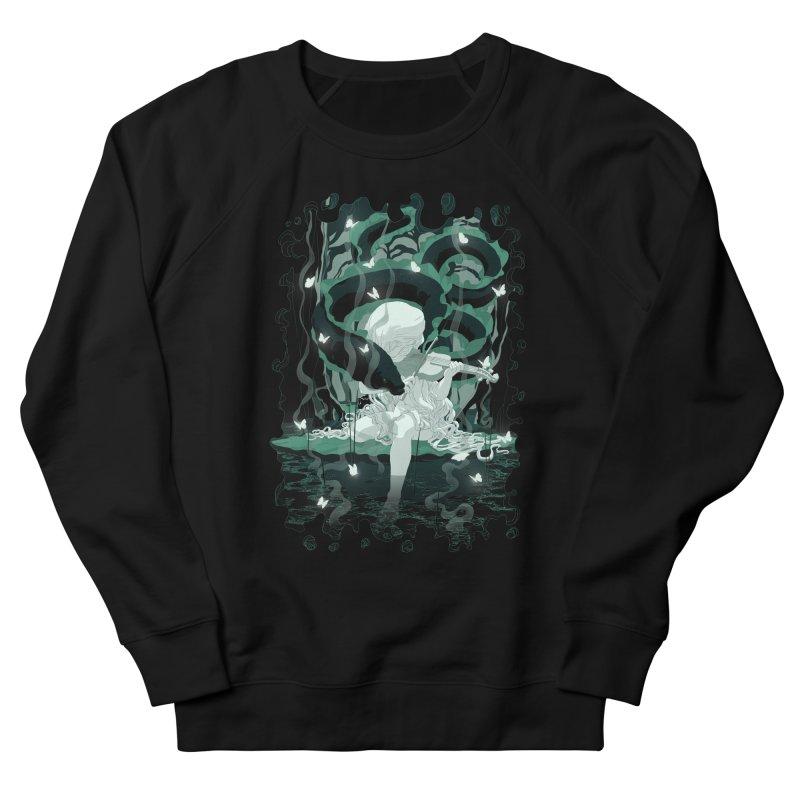 Serenata Men's French Terry Sweatshirt by Angrymonk