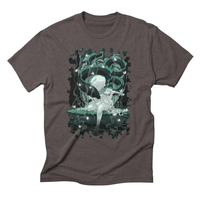 Serenata Men's Triblend T-Shirt by Angrymonk