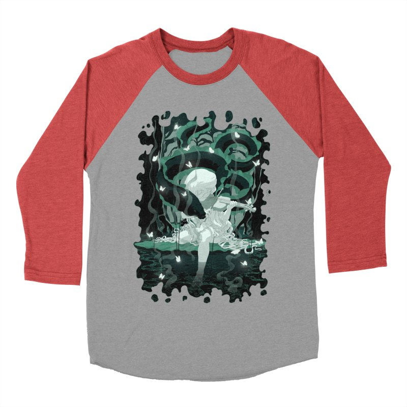 Serenata Men's Baseball Triblend T-Shirt by Angrymonk