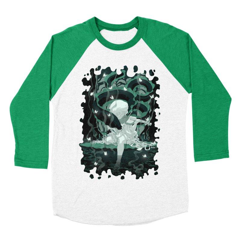 Serenata Men's Baseball Triblend Longsleeve T-Shirt by Angrymonk