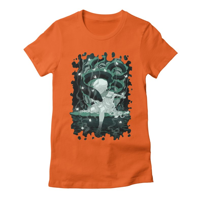 Serenata Women's Fitted T-Shirt by Angrymonk