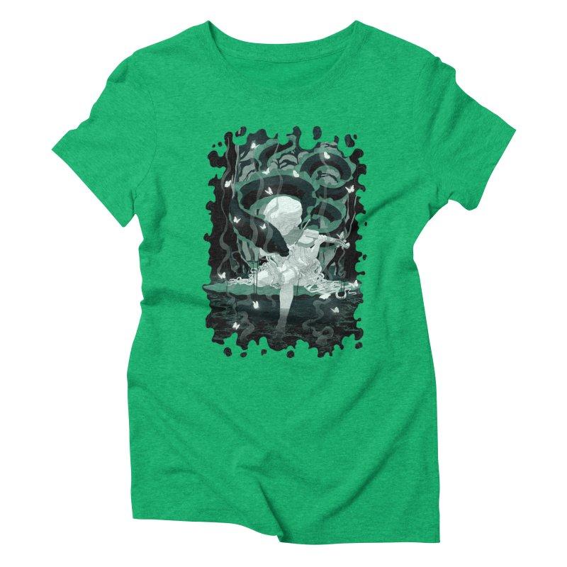 Serenata Women's Triblend T-shirt by Angrymonk