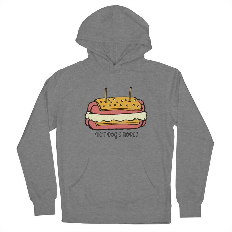 Hot Dog S'mores Women's Pullover Hoody by Angry Squirrel Studio