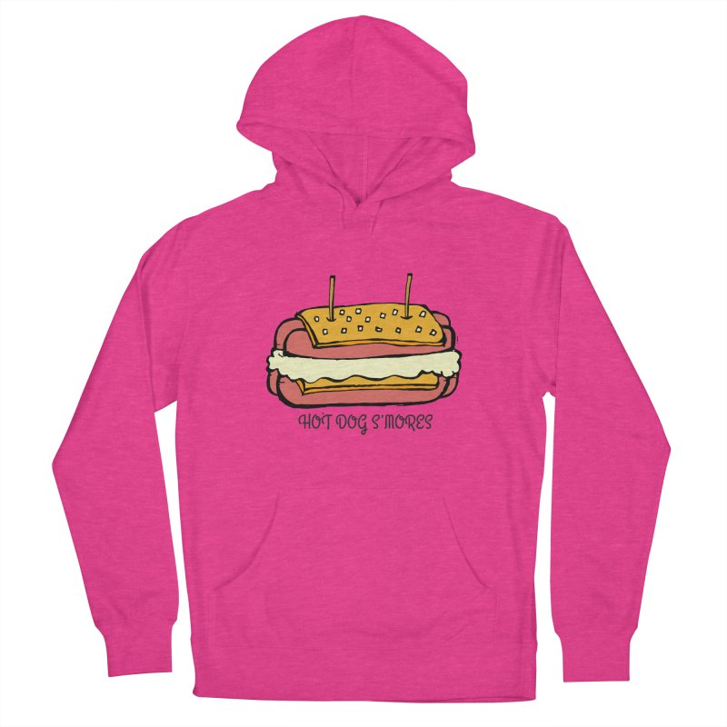 Hot Dog S'mores Men's Pullover Hoody by Angry Squirrel Studio
