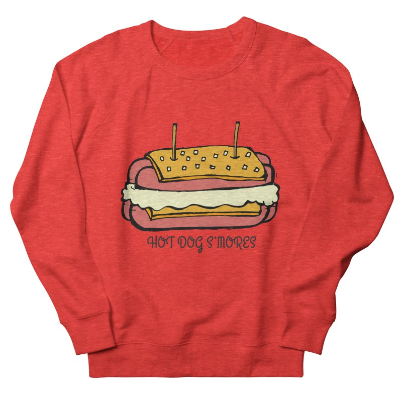 Hot Dog S'mores Men's Sweatshirt by Angry Squirrel Studio