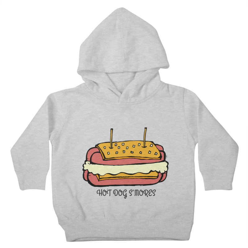 Hot Dog S'mores Kids Toddler Pullover Hoody by Angry Squirrel Studio