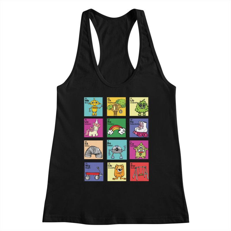 iMAGINATION tABLE Women's Tank by Angry Squirrel Studio