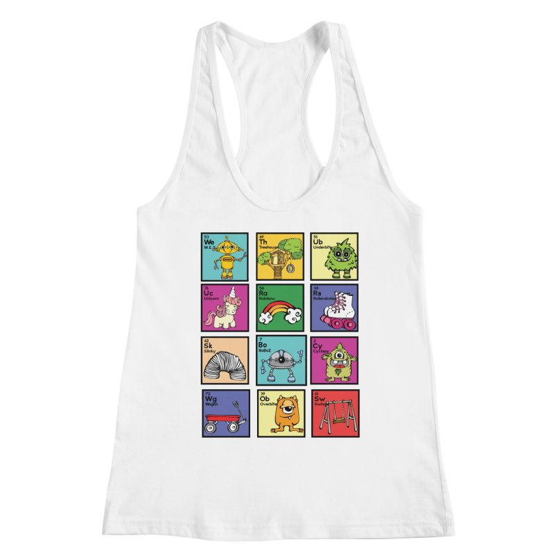 iMAGINATION tABLE Women's Racerback Tank by Angry Squirrel Studio