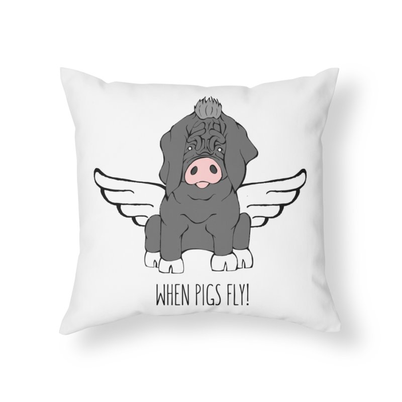 When Pigs Fly - Meishan   by Angry Squirrel Studio