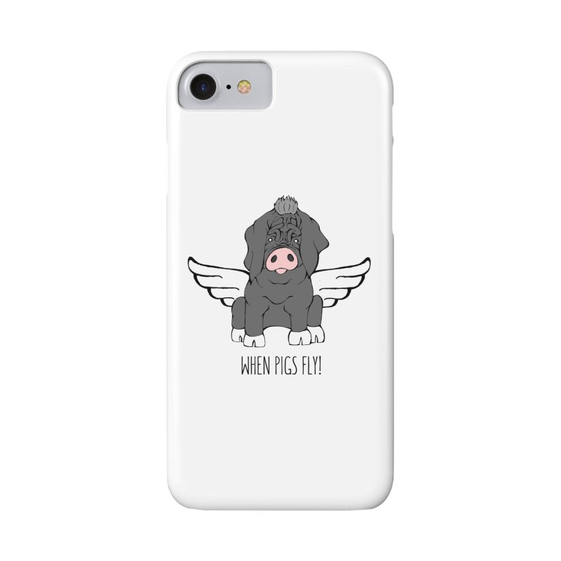 When Pigs Fly - Meishan Accessories Phone Case by Angry Squirrel Studio