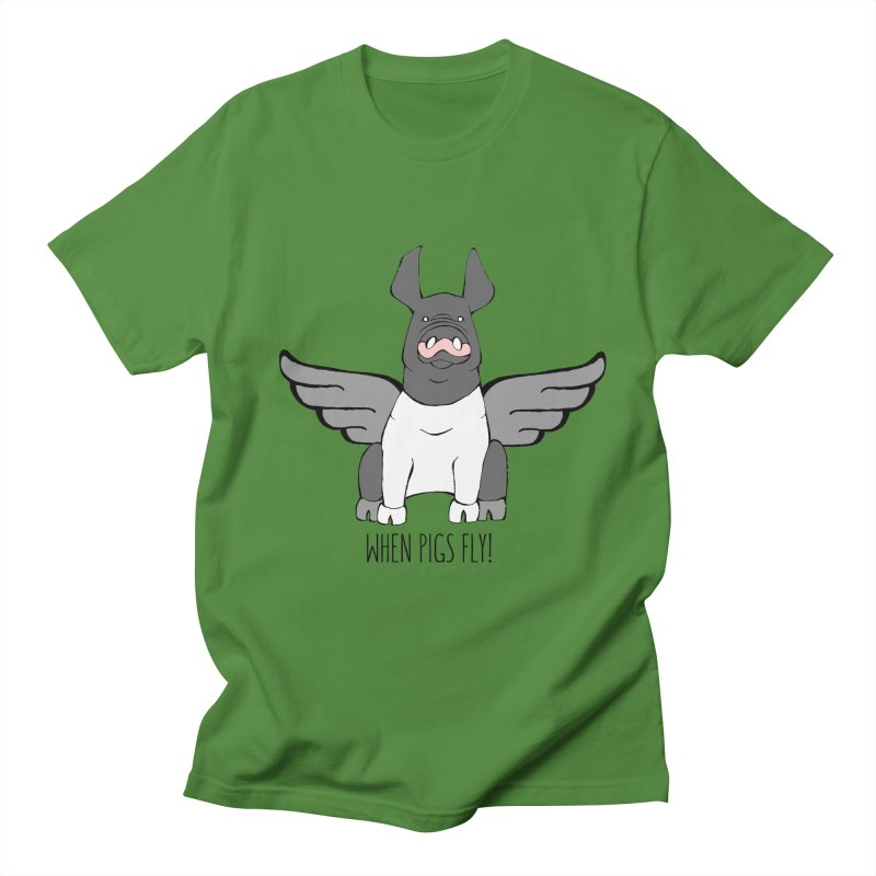 When Pigs Fly: Hampshire Women's Unisex T-Shirt by Angry Squirrel Studio