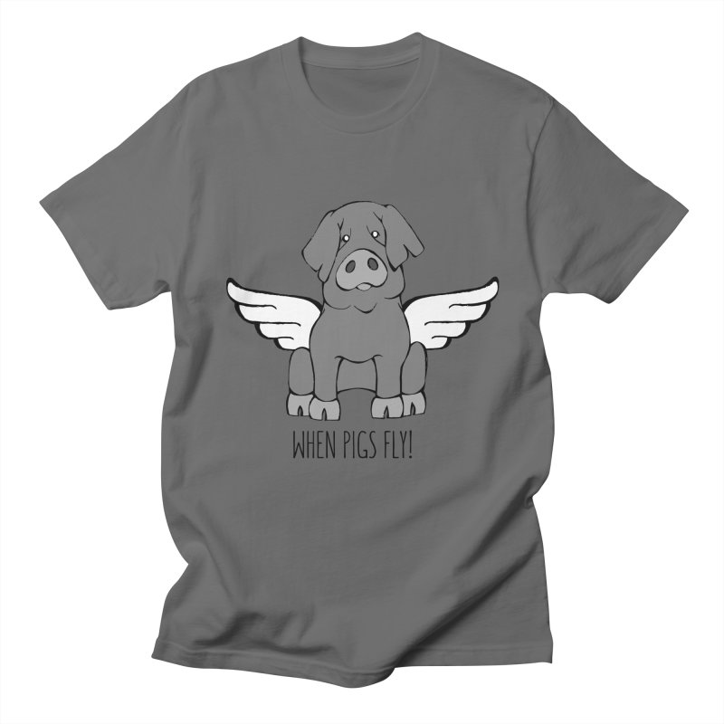 When Pigs Fly: Iberico Women's Unisex T-Shirt by Angry Squirrel Studio